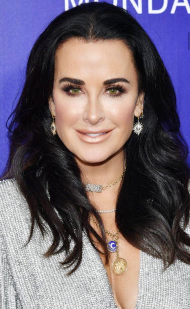 Nicole Rose Starburst Earrings on Kyle Richards