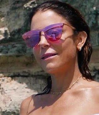 Bethenny Frankel's Pink Sunglasses