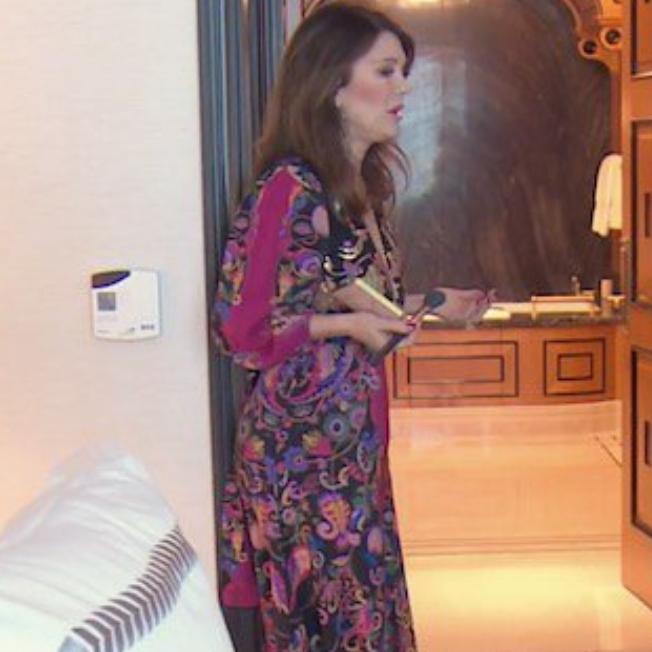 Lisa Vanderpump's Paisley Maxi Dress