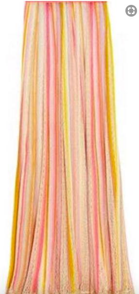 Missoni Lace Crochet Maxi Skirt