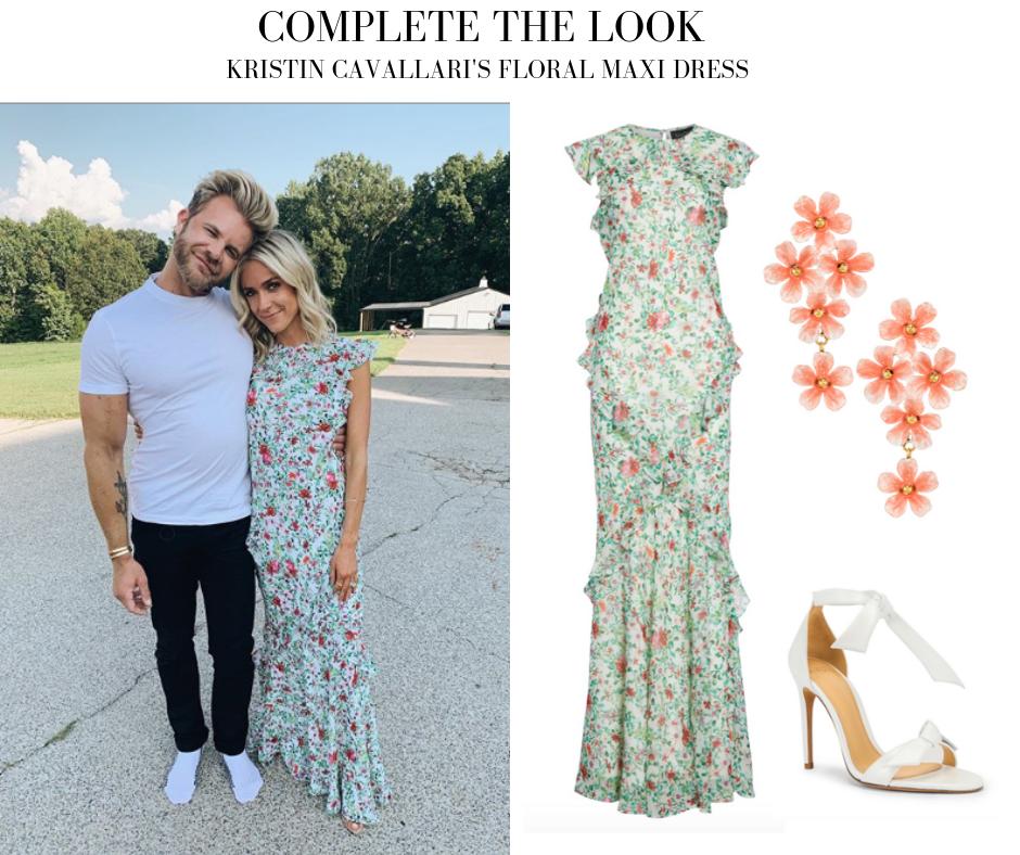 Kristin Cavallari's Floral Dress