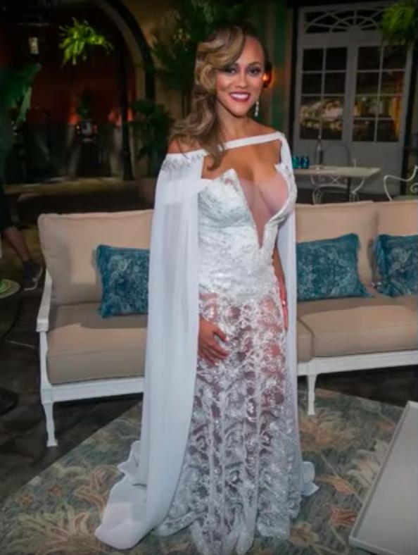 Ashley Darby's Season 4 Reunion Dress