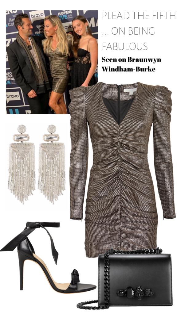 Braunwyn-Windham-Burkes-Metallic-Dress