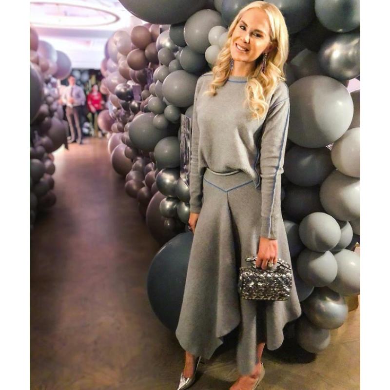 Kameron Westcott's Grey Outfit