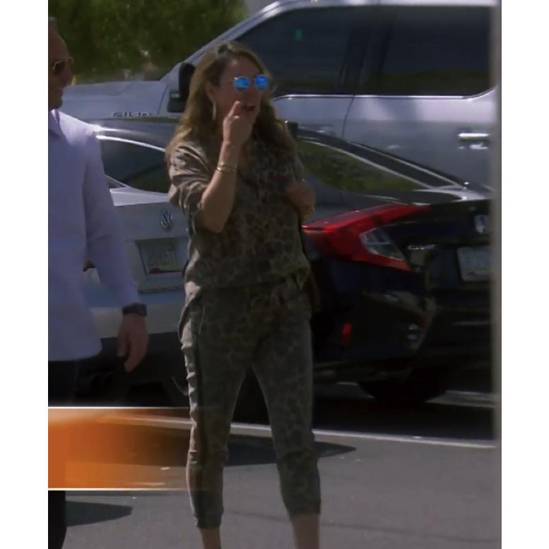 Kelly Dodd's Leopard Pants