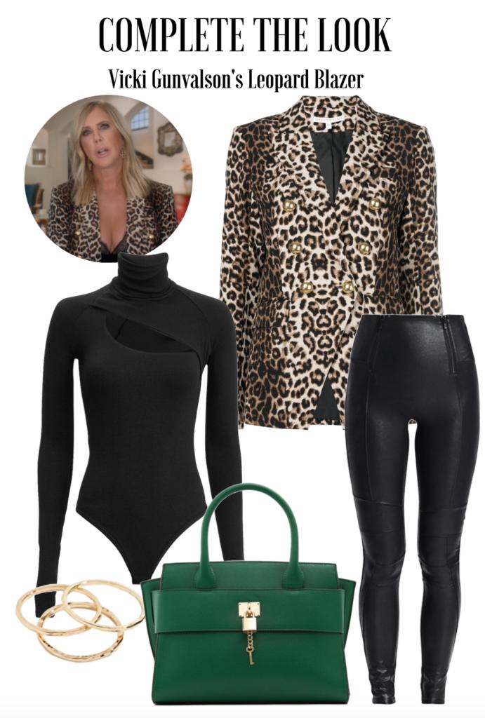 Vicki Gunvalson's Leopard Blazer