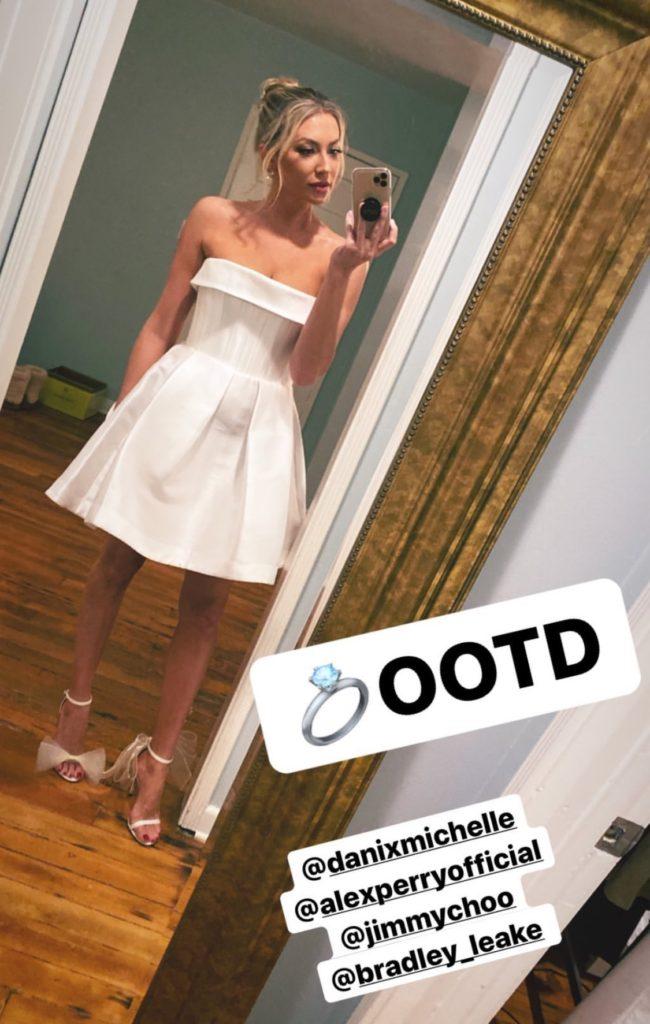 Stassi Schroeder's Engagement Party Dress
