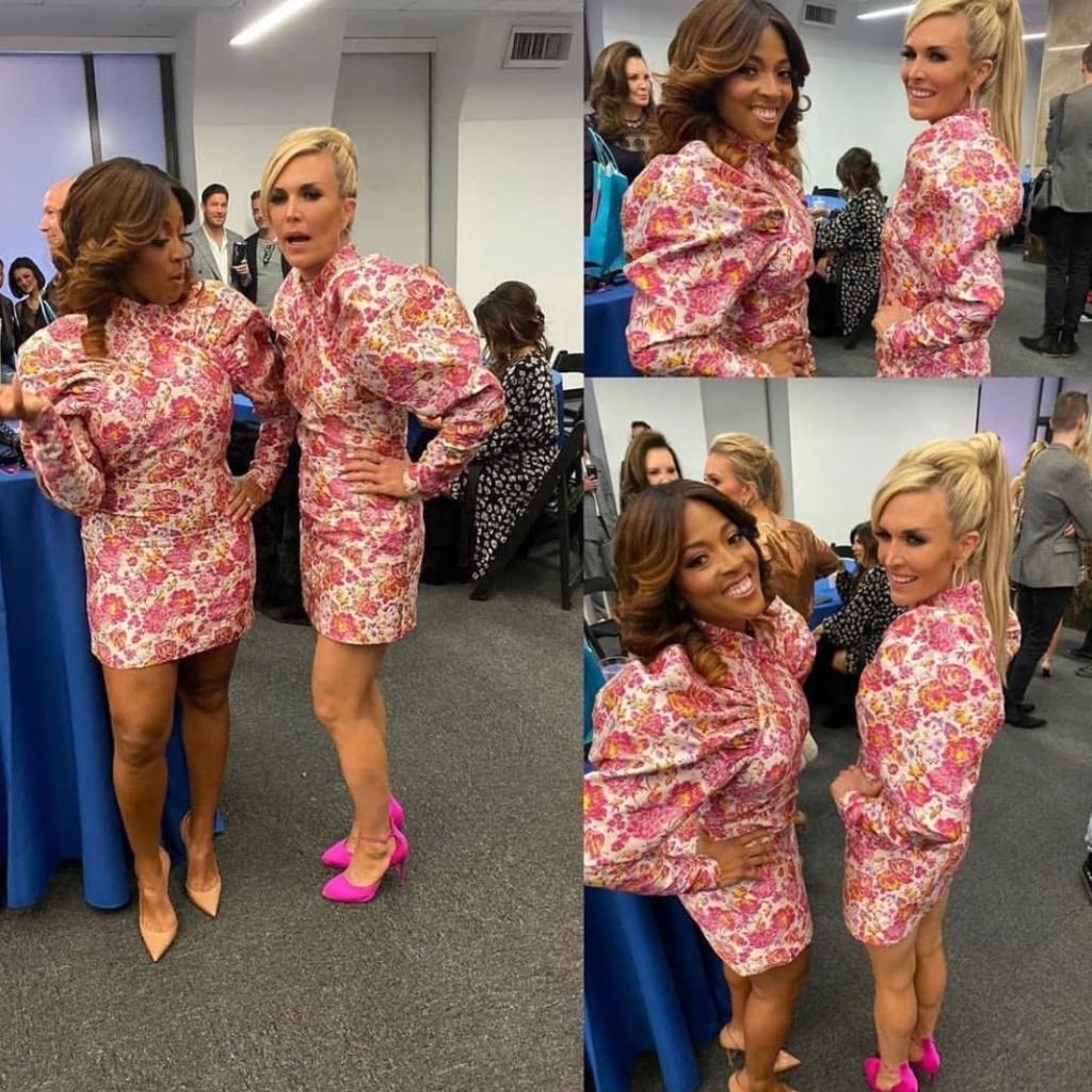 Tinsley Mortimer and ToyaBush-Harris' Floral Dress