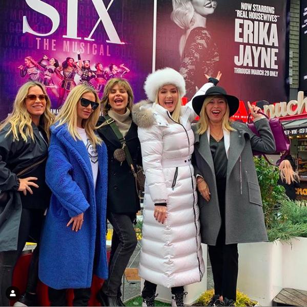 Erika Jayne Girardi's White Puffer Coat
