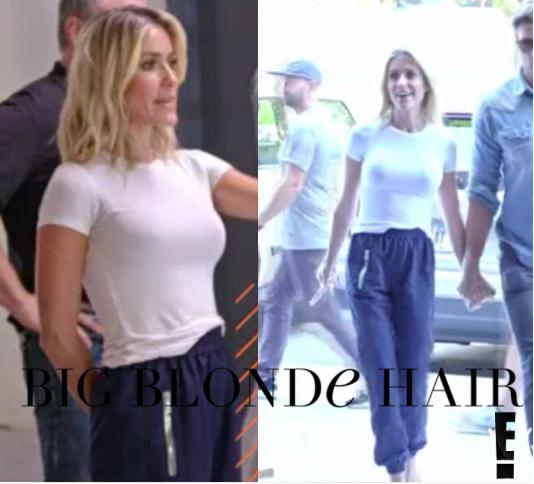 Kristin Cavallari's Navy Blue Pants