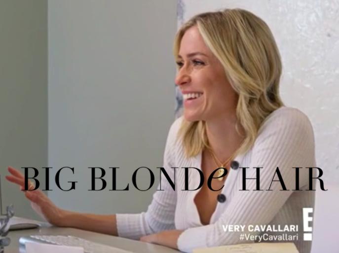 Kristin Cavallari's White Ribbed Henley Top