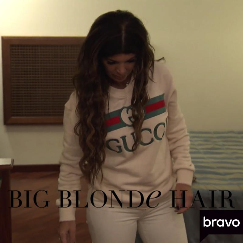 Teresa Giudice's Gucci Sweatshirt
