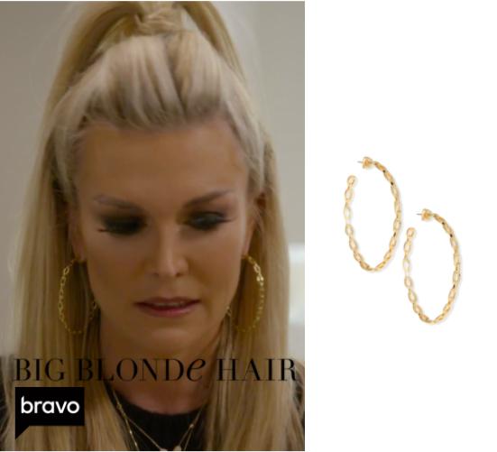 Tinsley Mortimer's Chain Link Earrings