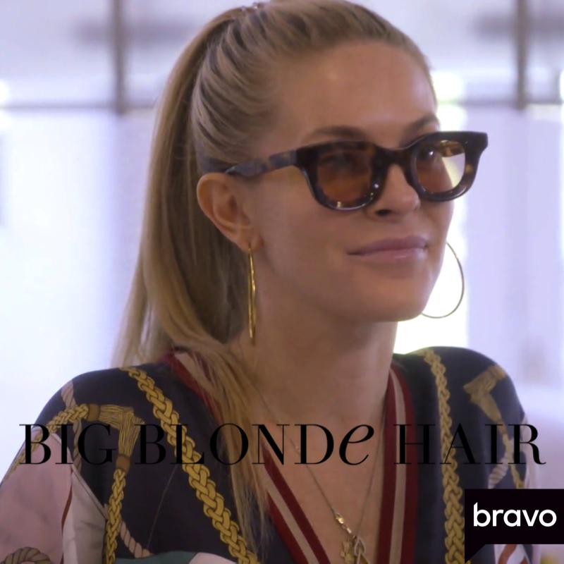 Leah McSweeney's Tortoise Sunglasses
