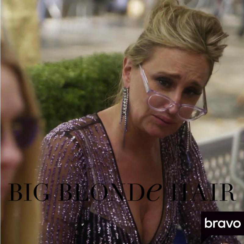 Sonja Morgan's Crystal Fringe Earrings