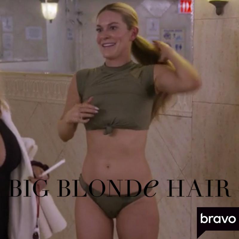 Leah McSweeney's Green Knotted Bikini
