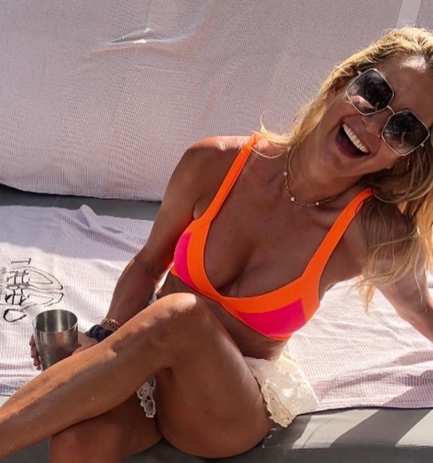 Kary Brittingham's Colorblocked Bikini