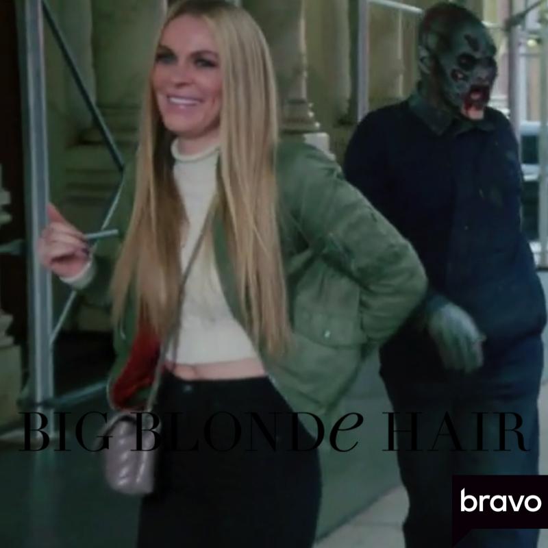 Leah McSweeney's Green Bomber Jacket