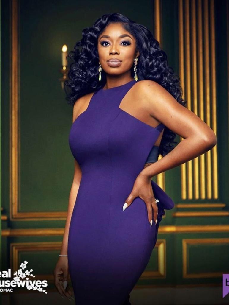 Wendy Osefo's Season 5 Cast Photo Dress