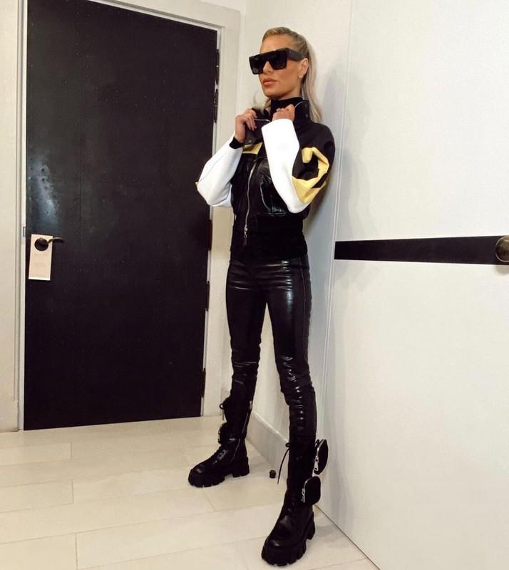 Dorit Kemsley's Leather Jacket + Boots