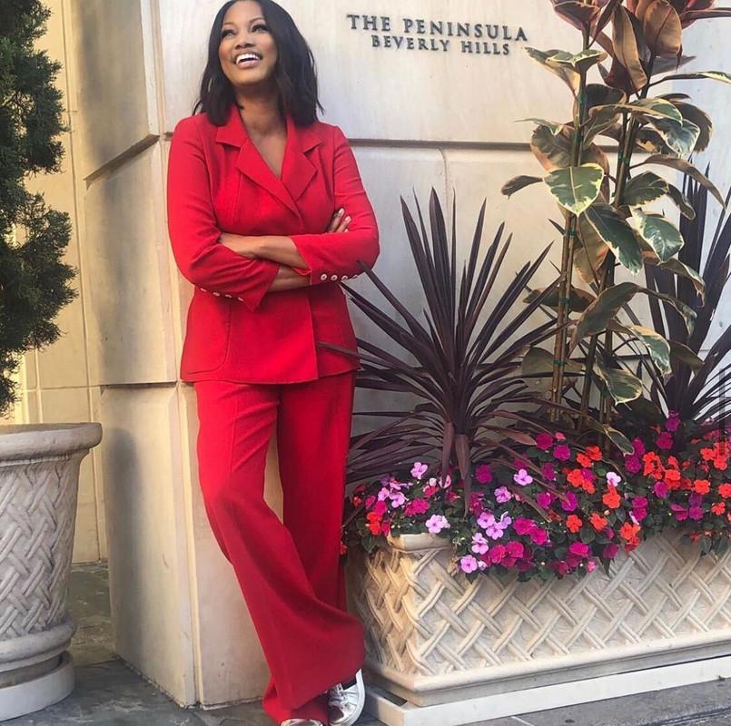 Garcelle Beauvais' Red Suit