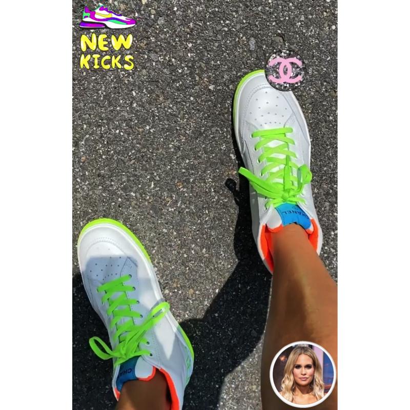 Jackie Goldschneider's Neon Sneakers
