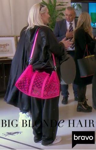 Erika Jayne Girardi's Pink Louis Vuitton Duffle Bag