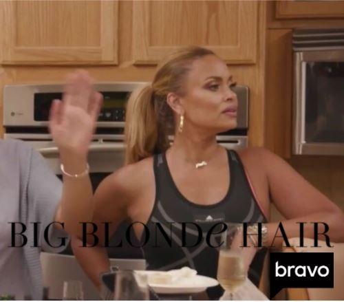Gizelle Bryant's Black Jumpsuit