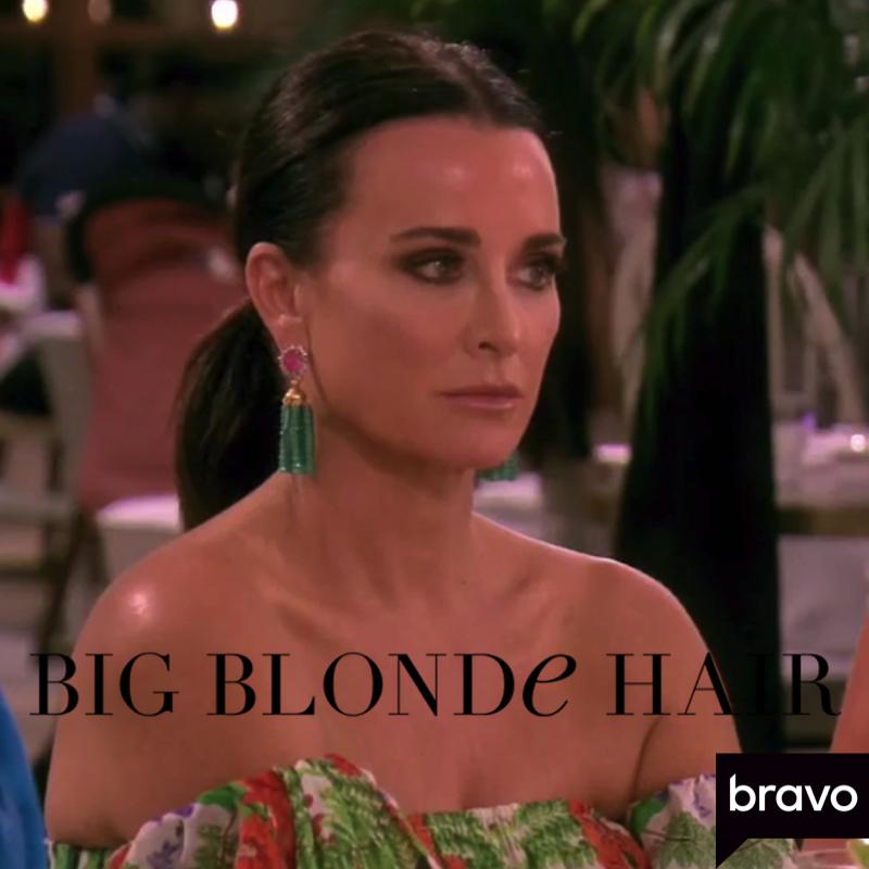 Sonja Morgan's Pink and Turquoise Beaded Tassel Earrings