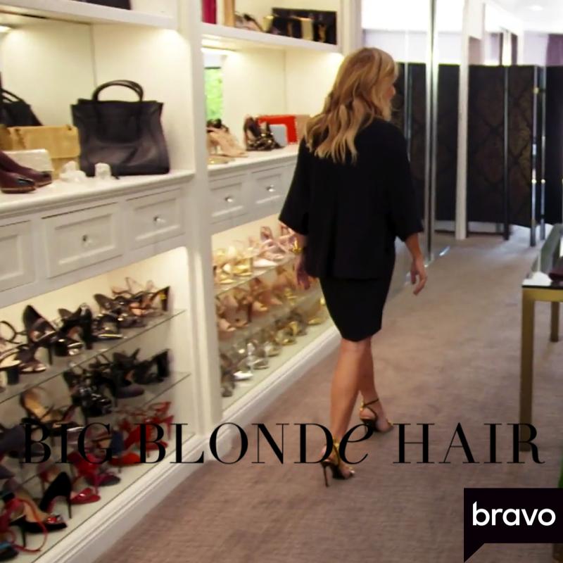 Tracy Tutor's Gold Ruffle Sandals