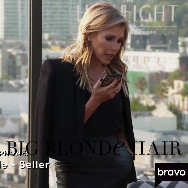 Tracy Tutor's Black Cropped Blazer