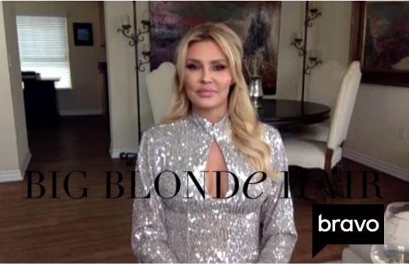 Brandi Glanville's Silver Sequin Dress