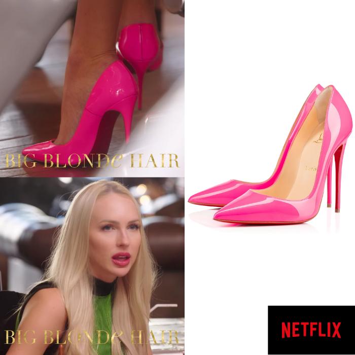 Christine Quinn's Neon Pink Pumps