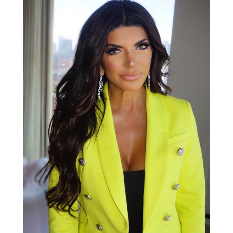 Teresa Giudice's Neon Yellow Blazer