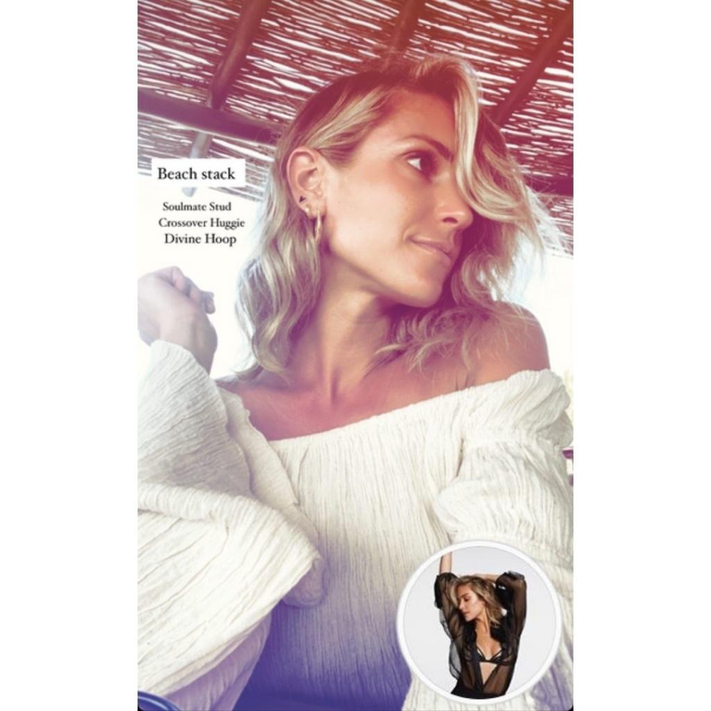 Kristin Cavallari's Off The Shoulder Top