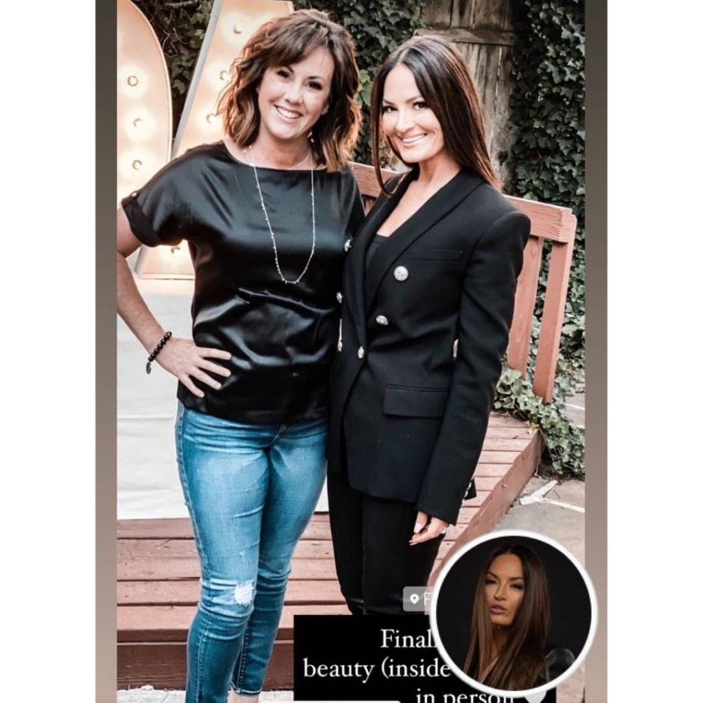 Lisa Barlow's Black Blazer