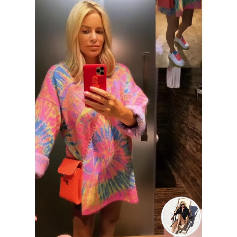 Caroline Stanbury's Tie Dye Sweater Dress