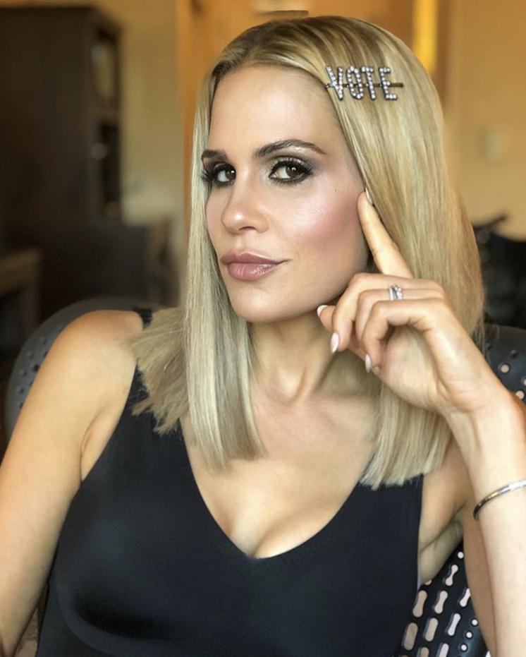 Jackie Goldschneider Vote Hairpin