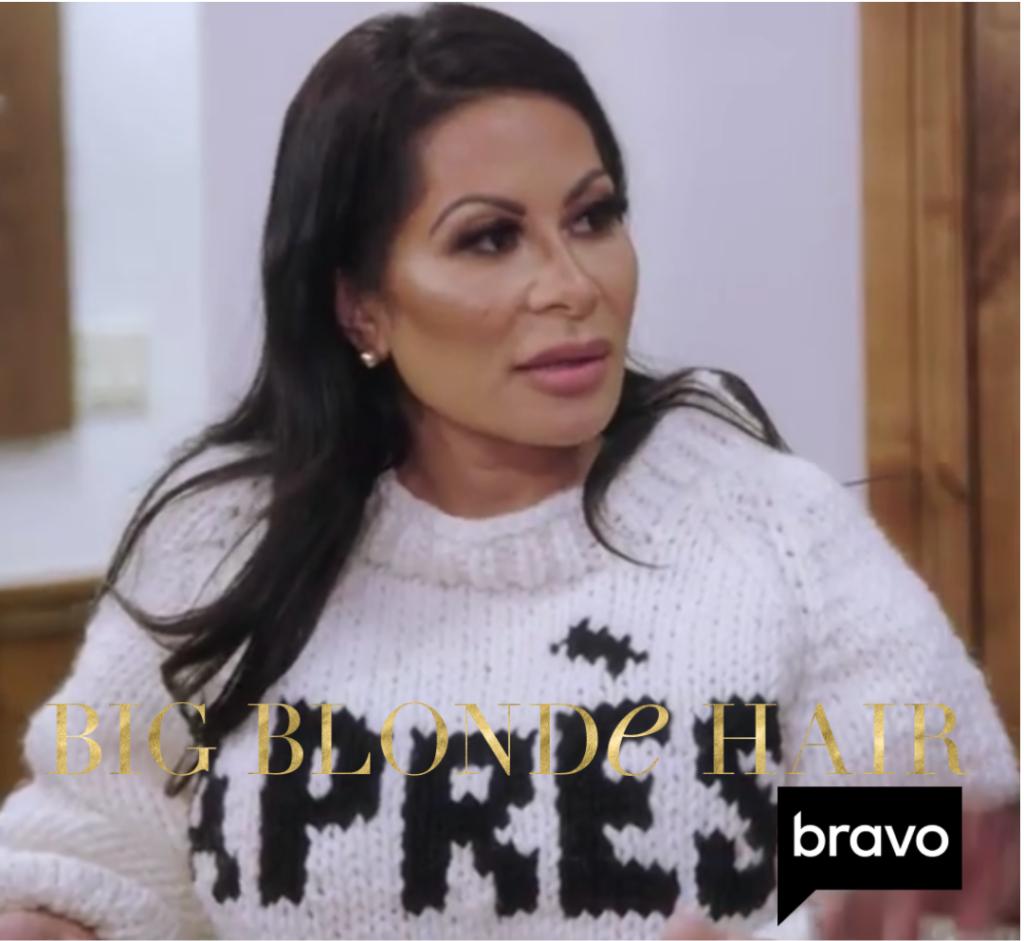 Jen Shah's Apres Sweater