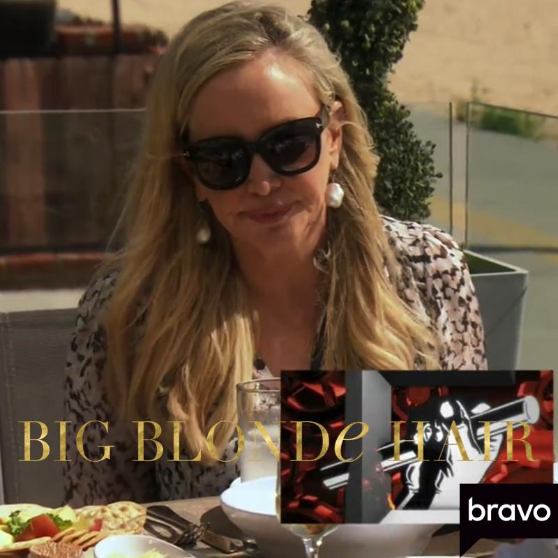 Shannon Beador's Black Sunglasses