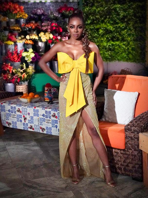 Candiace Dillards Season 5 Reunion Dress