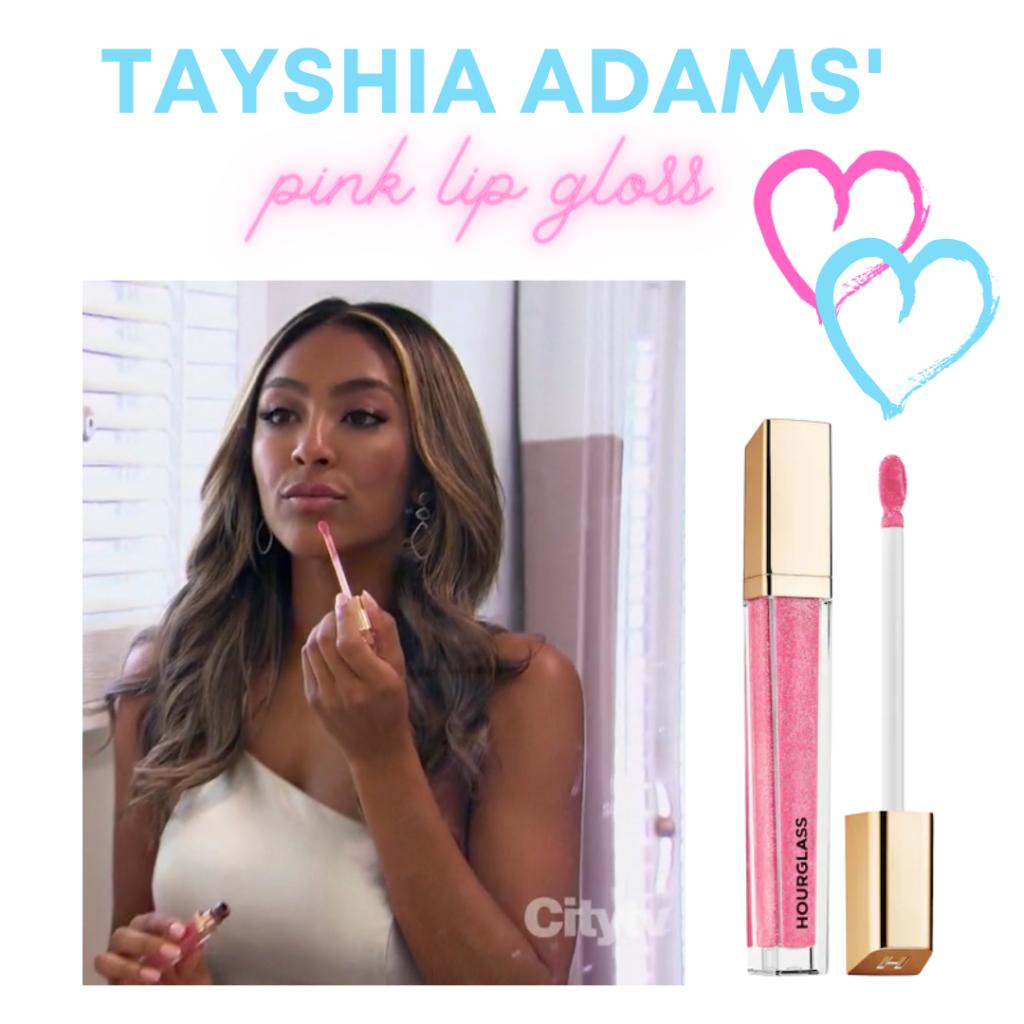 Tayshia Adams' Pink Lip Gloss
