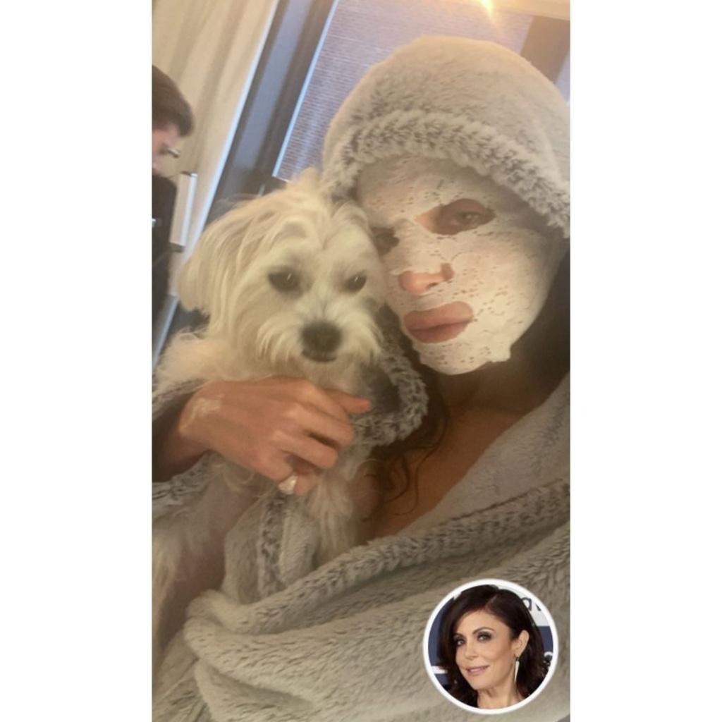 Bethenny Frankel's Lace Mask