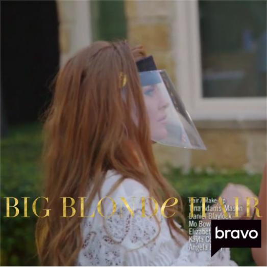 Brandi Redmond's Clear Face Shield