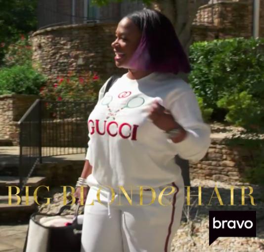 Kandi Burruss' Gucci Tennis Sweatshirt