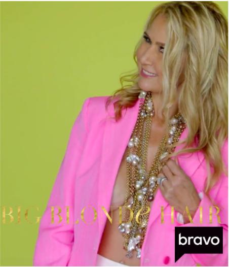 Kary Brittingham's Hot Pink Blazer