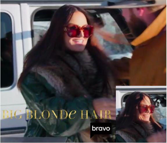 Lisa Barlow's Large Square Sunglasses