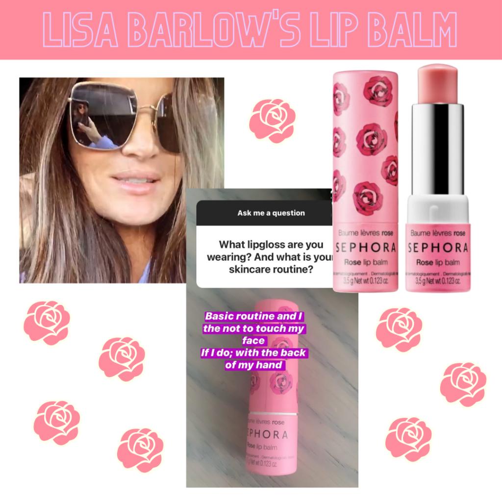 Lisa Barlow's Lip Balm