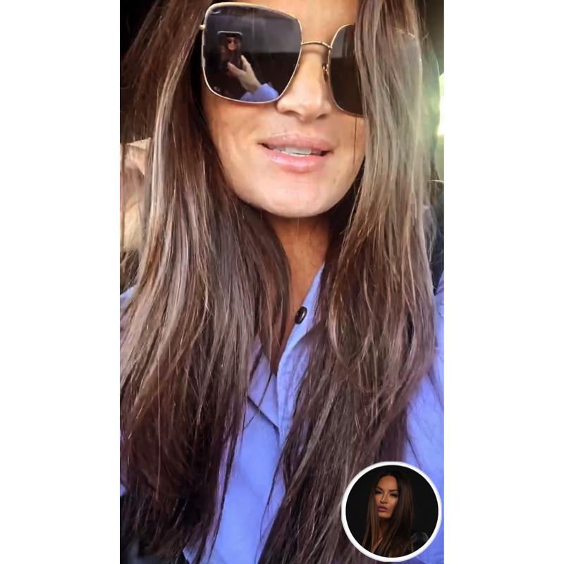 Lisa Barlow's Square Sunglasses