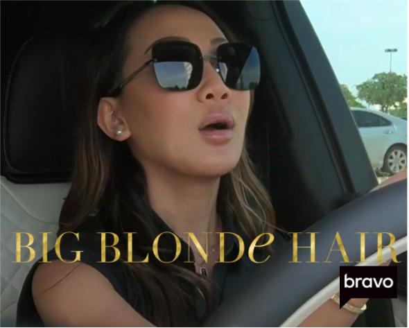 Tiffany Moon's Black Square Sunglasses